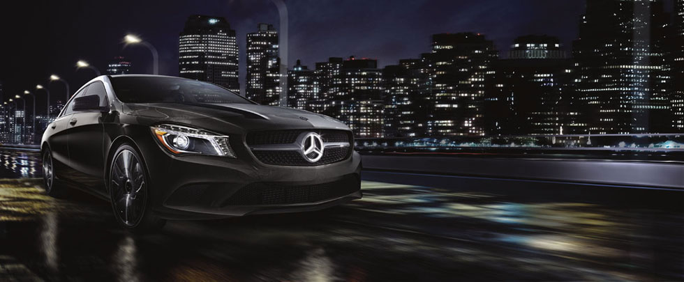 Mercedes-Benz 2014 CLA ILLUMINATED STAR 980x405