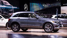 The 2016 Mercedes-Benz GLC250 SUV