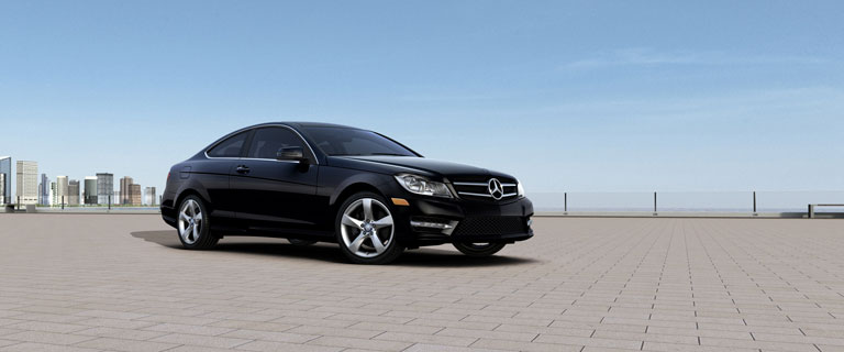 Mercedes-Benz 2014 C CLASS C350 COUPE BACKGROUND BYO T 01
