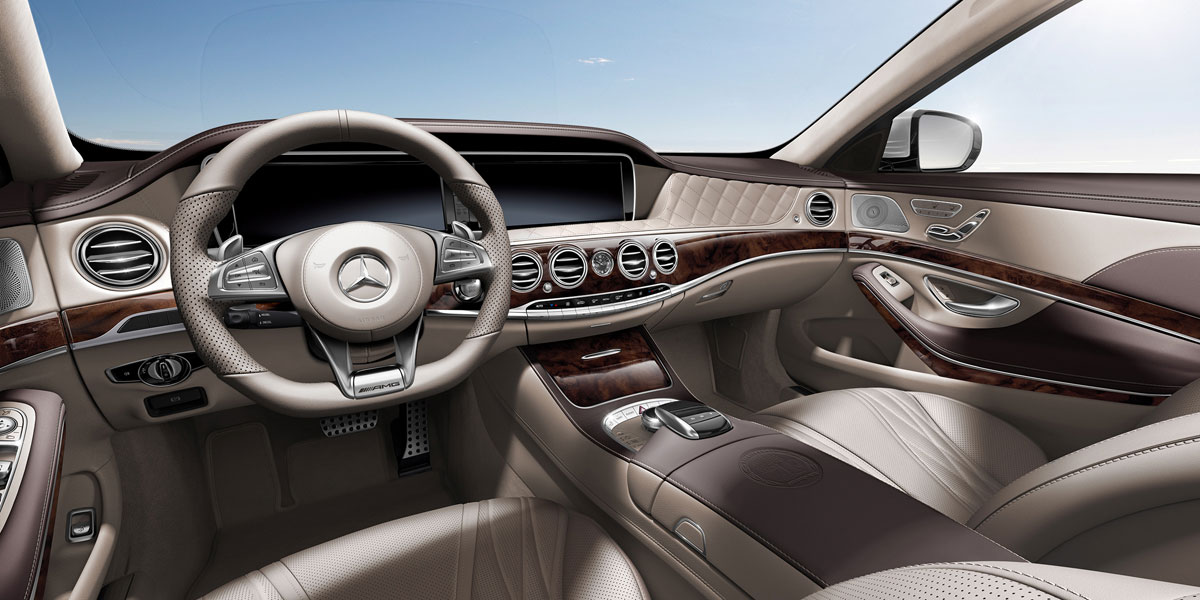 Mercedes-Benz 2015 S CLASS S63 AMG SEDAN UPHOLSTERY 399 995 BYO D 01
