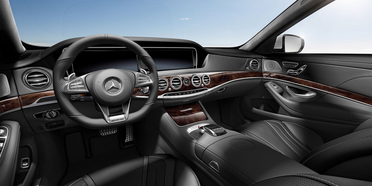 Mercedes-Benz 2015 S CLASS S63 AMG SEDAN UPHOLSTERY 851 BYO D 01