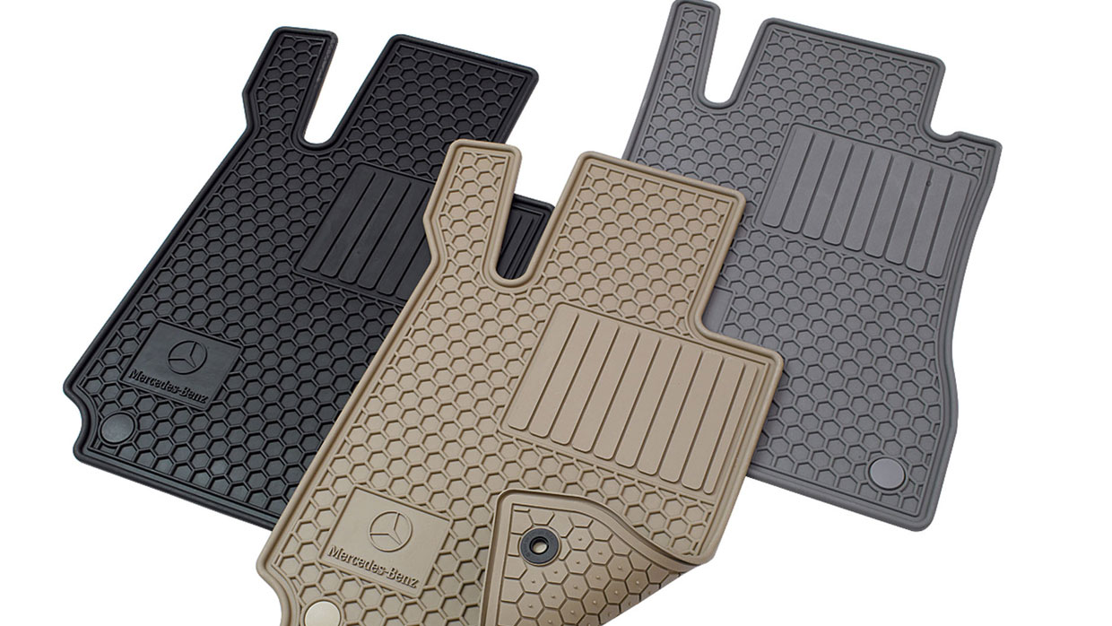 Mercedes Benz MERCEDES BENZ ALL SEASON FLOOR MATS MCFO R
