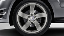 19-inch 5-spoke alloy wheels