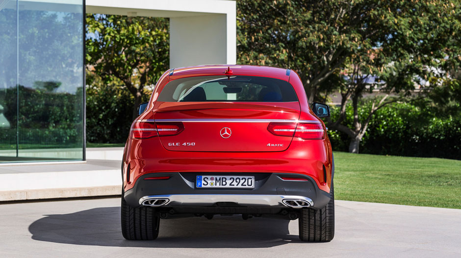 All-new 2016 Mercedes-Benz GLE Coupe