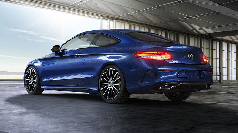 Mercedes-Benz 2017 C COUPE FEATURED GALLERY 01