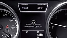 Mercedes Benz 12 TV ATTENTION ASSIST