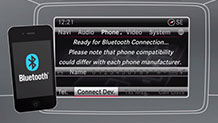 Mercedes-Benz 16 TV Bluetooth