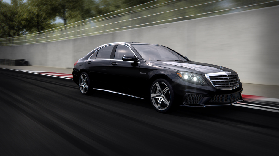 S63 AMG 4MATIC with 20-inch AMG 5-spoke wheels