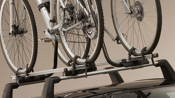 Bike racks are one of many rooftop carrier choices.