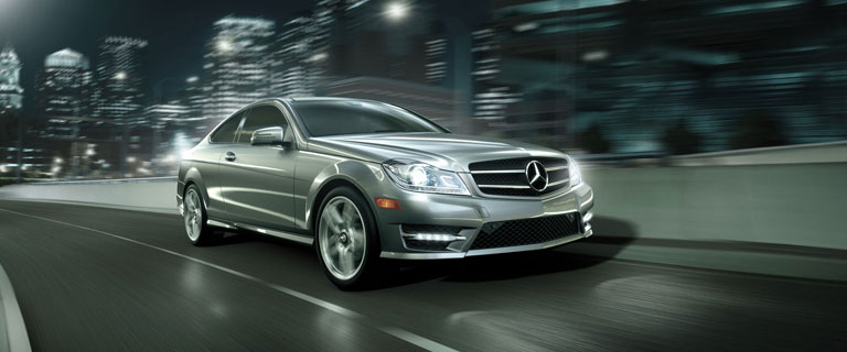 C class coupe mercedes benz for Mercedes benz pay bill