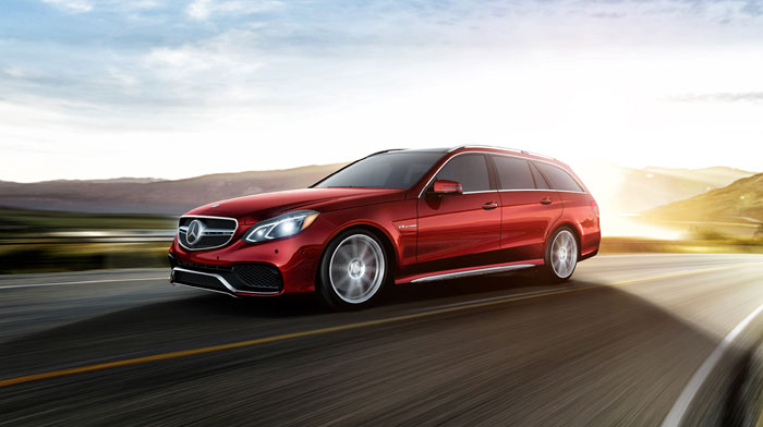 AMG S-Model 4MATIC® Wagon in Cardinal Red