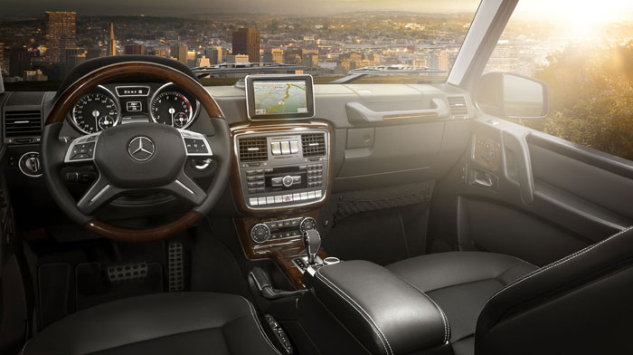 interior - Mercedes Suv Interior 2014