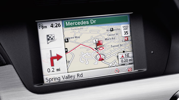 Becker® MAP PILOT navigation system