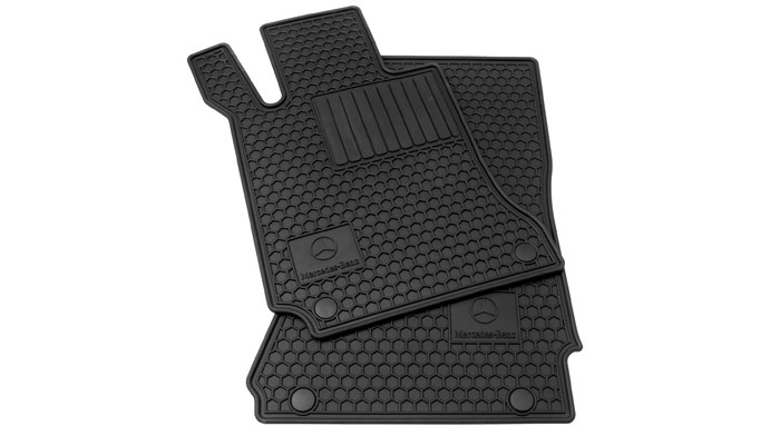 All-season floor mats help protect your carpet year-round.