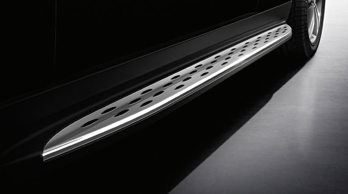 Available aluminum running boards