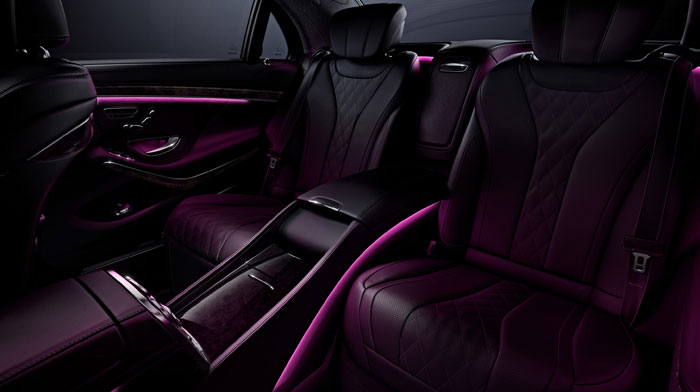 with Black Exclusive Nappa leather and Executive Rear Seat Package PLUS