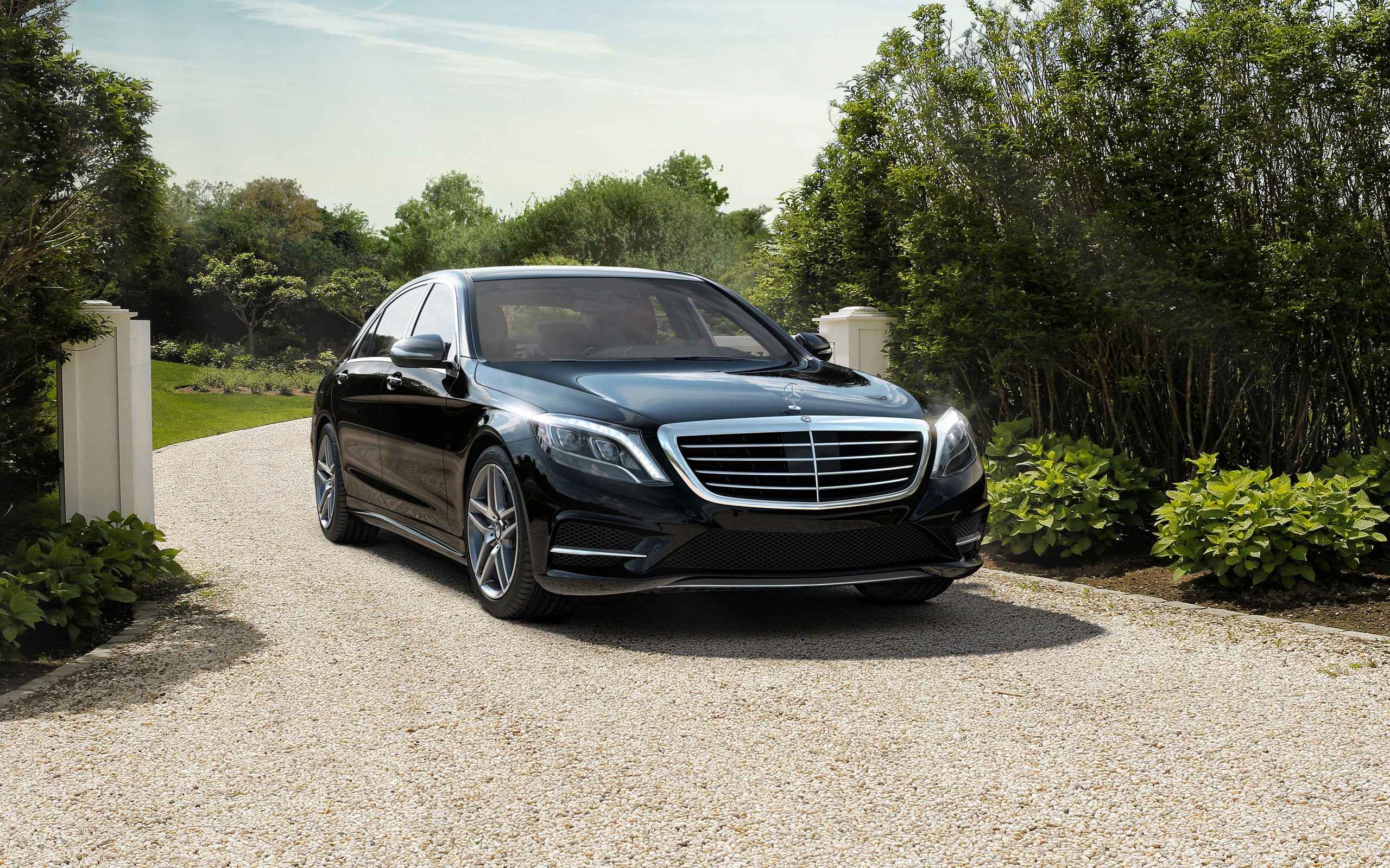 s550 in black with sport package - Mercedes Benz 2014 S Class Black