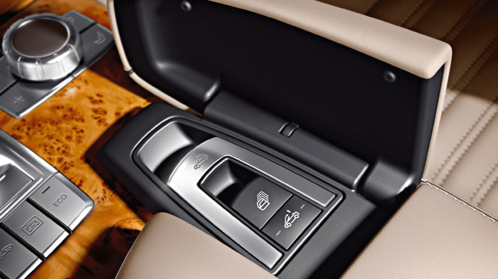 in Beige/Brown with concealed power hardtop controls.