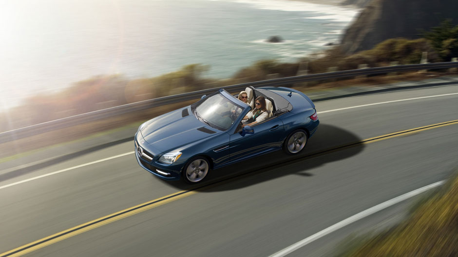 Mercedes Benz 2014 SLK CLASS ROADSTER GALLERY 002 GOE D