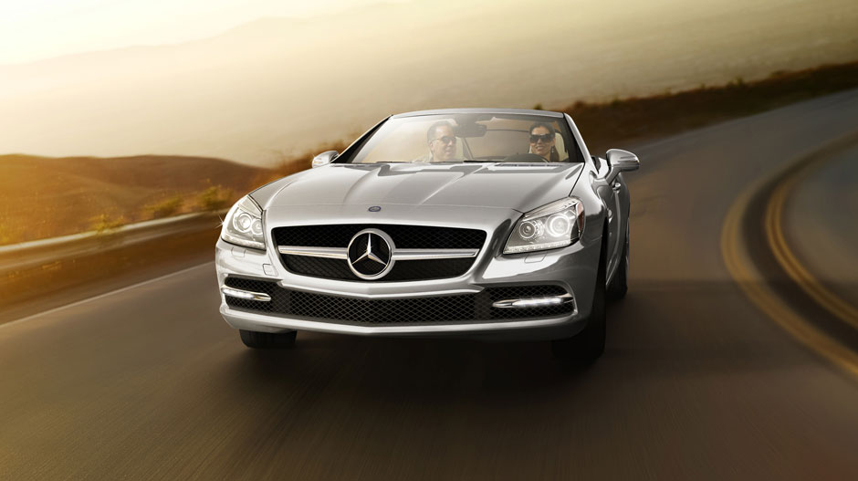 Mercedes-Benz 2014 SLK CLASS ROADSTER GALLERY 004 GOE D
