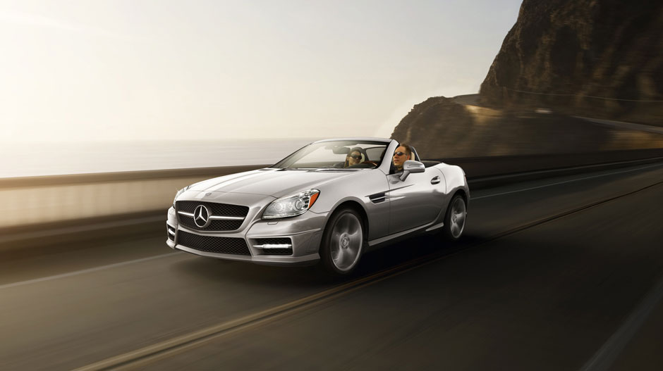 Mercedes Benz 2014 SLK CLASS ROADSTER GALLERY 027 GOE D