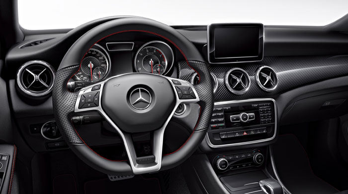 AMG in Red Cut leather with Multimedia Package