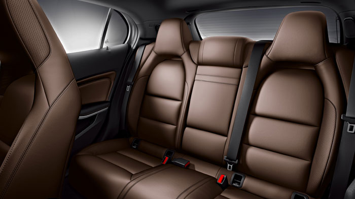 in Brown leather with Interior and Sport Packages