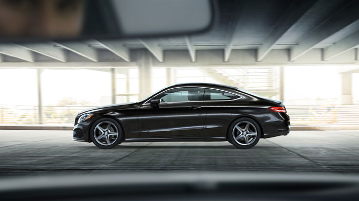 C300 Coupe in Obsidian Black with Sport Package
