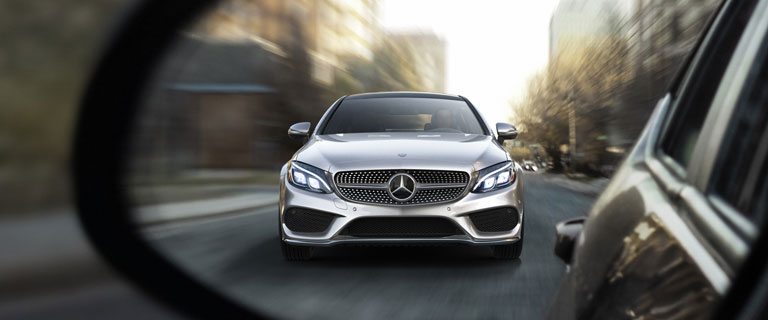 C class luxury performance coupe mercedes benz for Mercedes benz pay bill