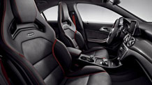 AMG Performance front seats by Recaro