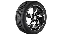 18-inch 5-spoke alloy wheels