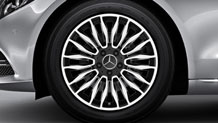 18-inch multispoke alloy wheels
