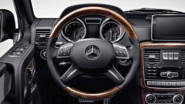 Mercedes G Wagon 2015 Interior