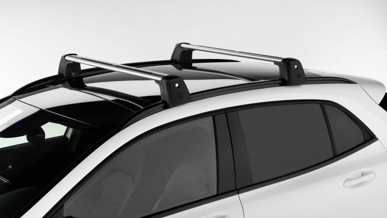 Roof rack basic carrier gla class gla250w4 accessories for Mercedes benz c300 roof rack