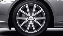 17-inch 10-spoke wheels