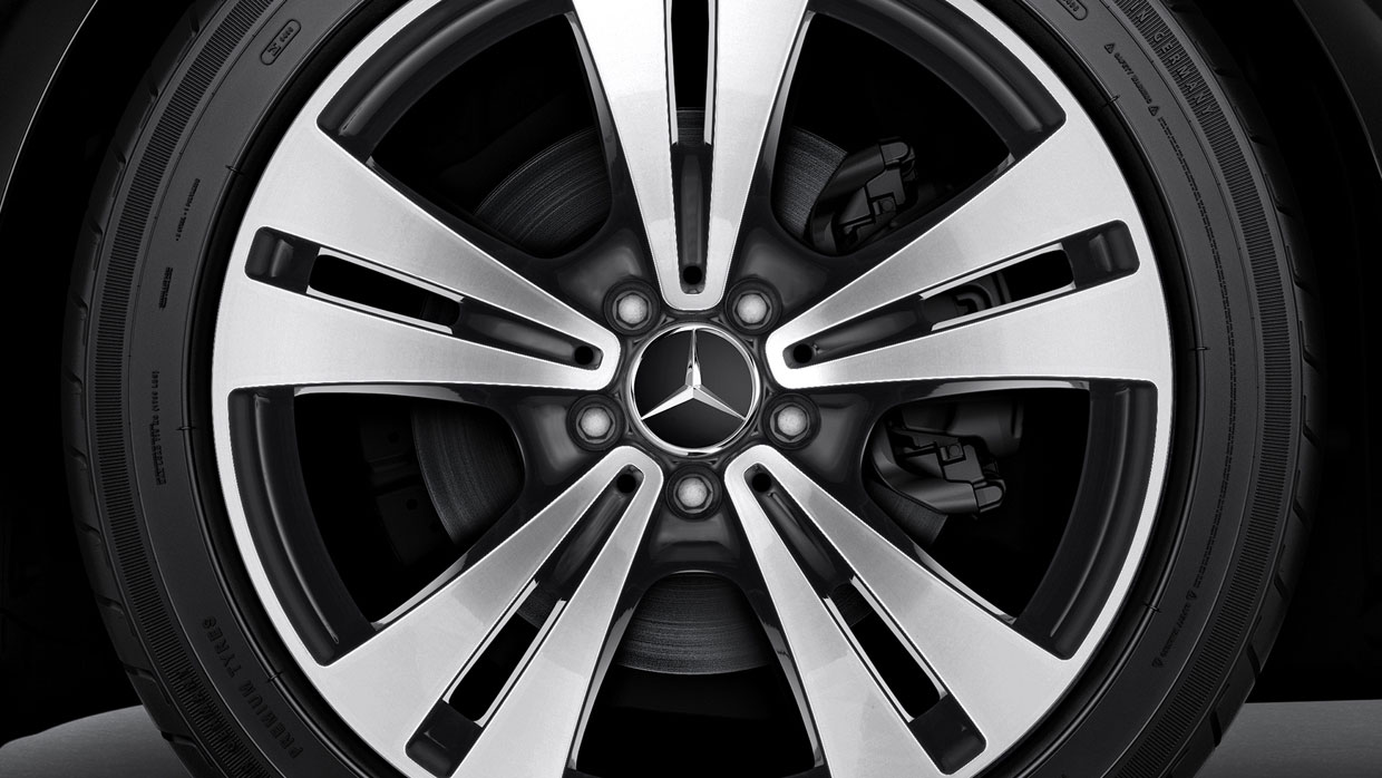 Mercedes-Benz 2018 WHEELS BQ8409052 BQ8409053 MCFO R