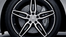 Mercedes-Benz 2018 WHEELS BQ8409054 BQ8409055 MCF