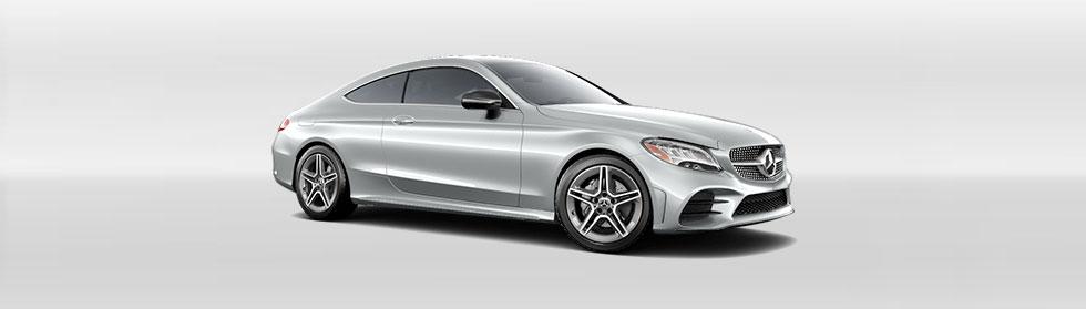 Mercedes-Benz 2020 C300 4M COUPE ACCESSORY HERO