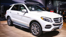 The 2016 Mercedes-Benz GLE550e Plug-In HYBRID SUV
