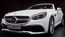 The 2017 Mercedes-Benz SLC300