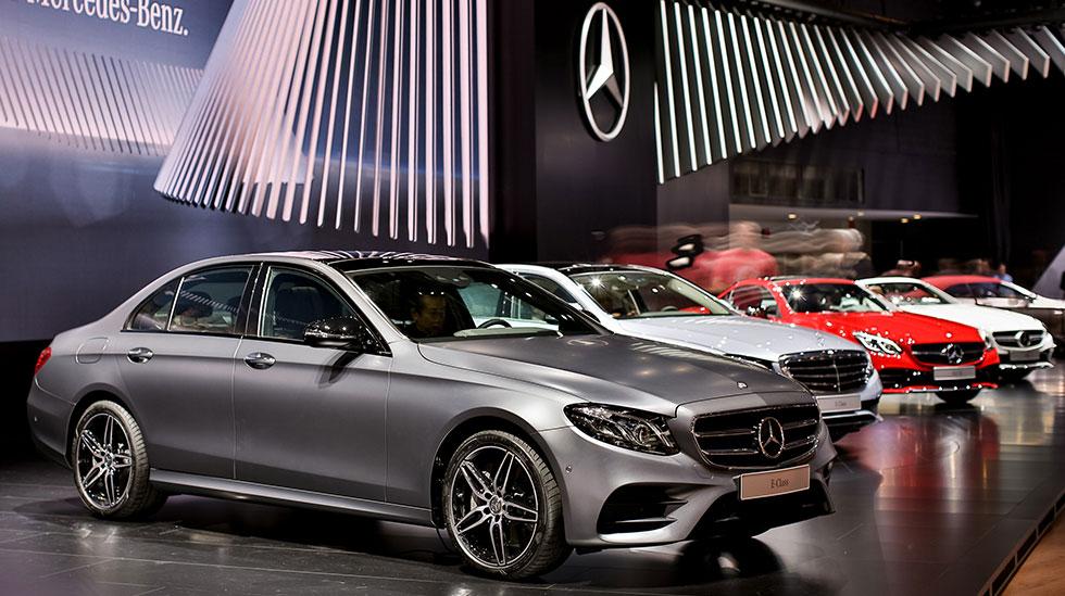 Mercedes-Benz 2016 DETROIT AUTO SHOW 0843
