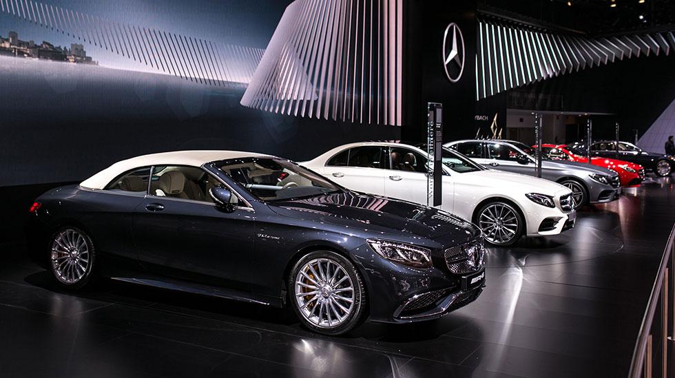 Mercedes-Benz 2016 DETROIT AUTO SHOW 1759