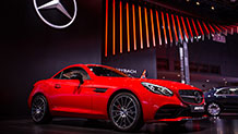 The 2017 Mercedes-AMG SLC43 Roadster