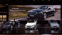 Mercedes-Benz world premieres at the North American International Auto Show