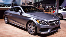 The new 2017 Mercedes-Benz C300 Coupe