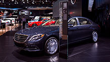 The 2016 Mercedes-Maybach S600 Sedan