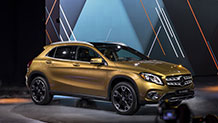 The redesigned 2018 Mercedes-Benz GLA 250 4MATIC SUV