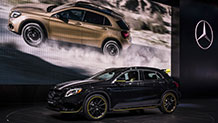 The redesigned 2018 Mercedes-Benz GLA SUVs