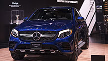 The 2017 Mercedes-Benz GLC 300 4MATIC Coupe