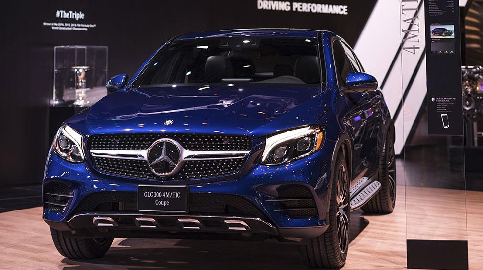 Mercedes-Benz 2017 DETROIT AUTO SHOW 14